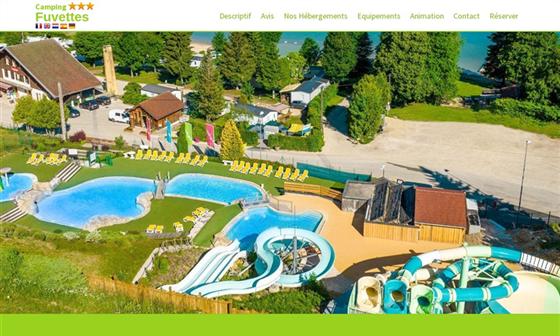 Camping jura doubs piscine lac malbuisson les fuvettes - Camping thonon les bains avec piscine ...