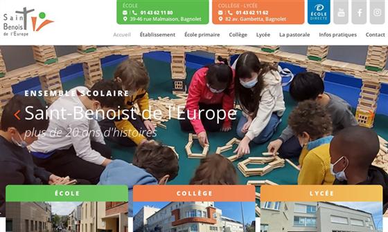 College St Benoist De L'Europe 17