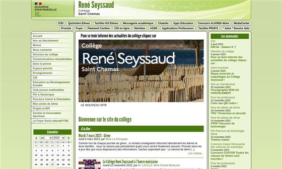 Coll ge ren seyssaud saint chamas 13 - College jean bernard salon de provence ...