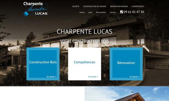 Charpente lucas constructeur de maisons annecy for Constructeur maison annecy