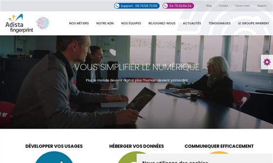 FINGERPRINT - 1ère Web Agency en Drôme. CREATION ET HEBERGEMENT DE SITES  INTERNET ... 0bc3e86b7f01