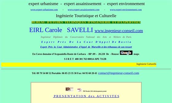 Bureau d 39 tudes environnement urbanisme assainissement expertise formations tp savelli carole - Bureau d etude environnement paris ...