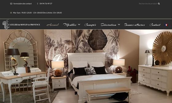 Recherche sur meubles peints for Atelier du meuble