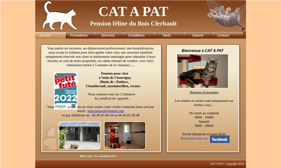 pension pour chat du bois clerbault cat a pat. Black Bedroom Furniture Sets. Home Design Ideas