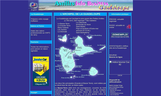 info antilles guadeloupe