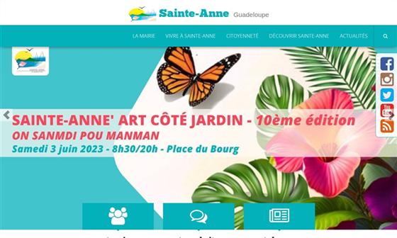 Mairie de sainte anne commune du d partement de la - Sainte anne guadeloupe office du tourisme ...