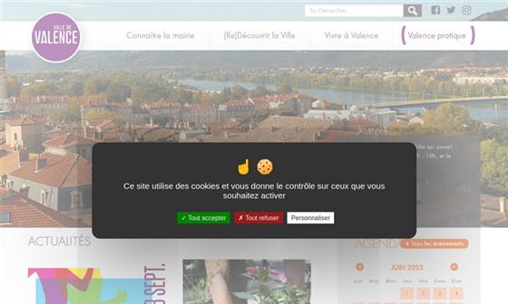 Mairie de Valence - Commune du département de la Drôme (26) 1a44d09c360b